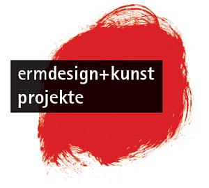 Logo ermdesign+kunst projekte